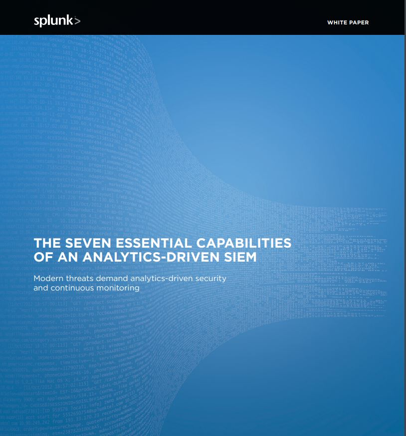 The Seven Essentials of an Analytics-Driven SIEM