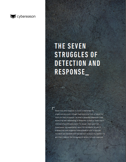 The Seven Struggles of Detection and Response