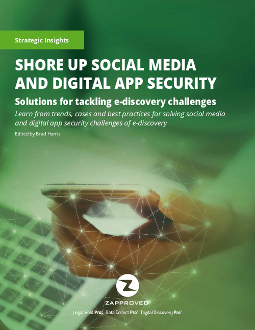 Shore Up Social Media and Digital App Security