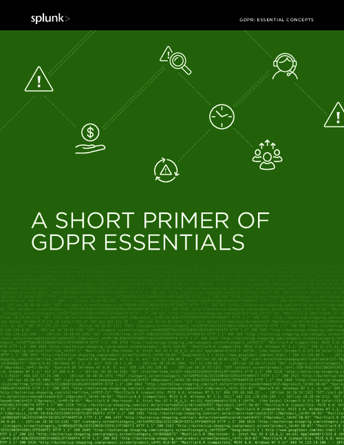 A Short Primer of GDPR Essentials