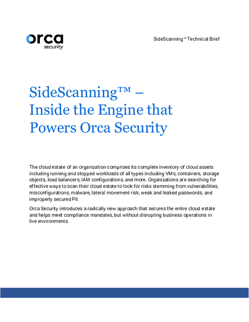 SideScanning - Inside the Engine that Powers Orca Security