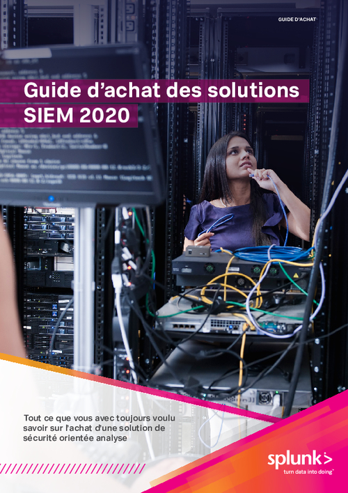 The SIEM Buyer's Guide for 2020 (French Language)