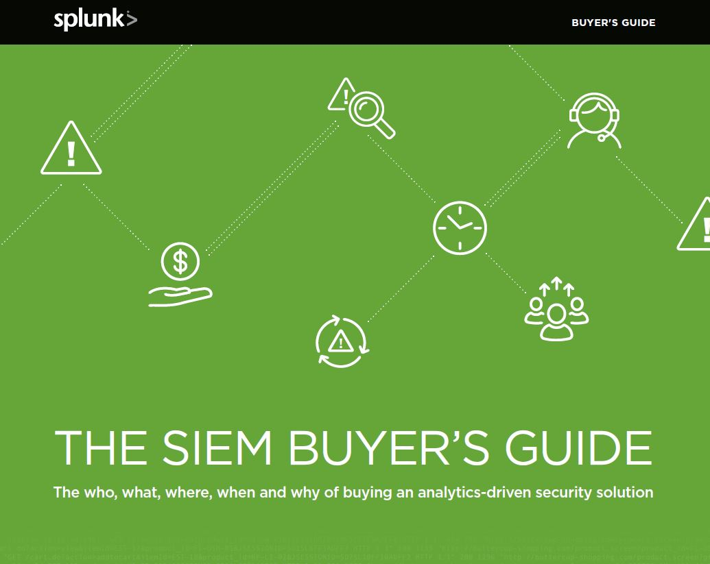 The SIEM Buyer's Guide