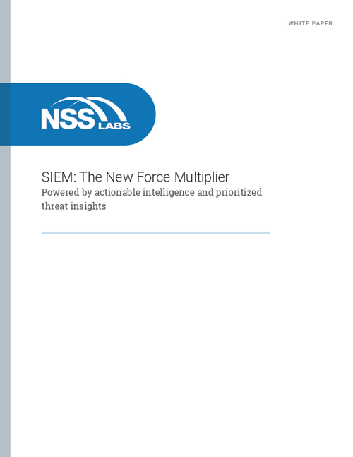 SIEM: The New Force Multiplier Powered by Actionable Intelligence