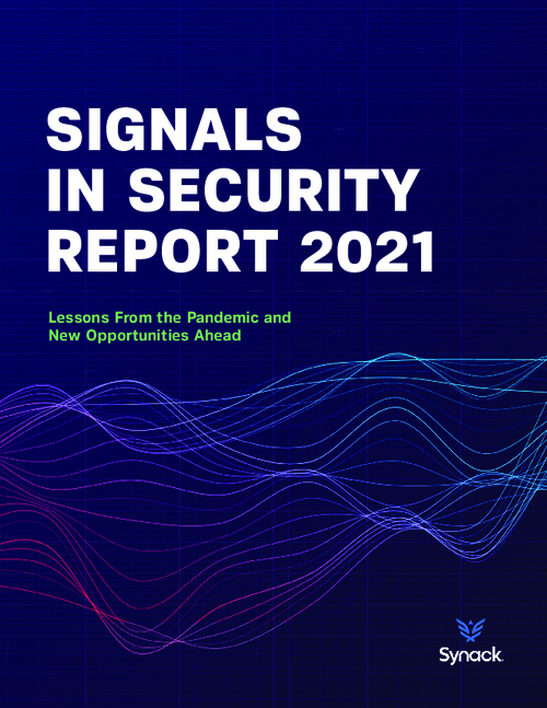 Signals in Security Report 2021