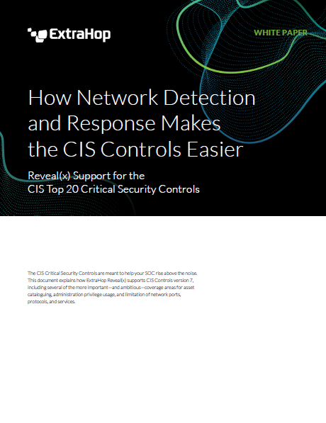 Simplifying CIS Controls: Network Detection and Response Integration