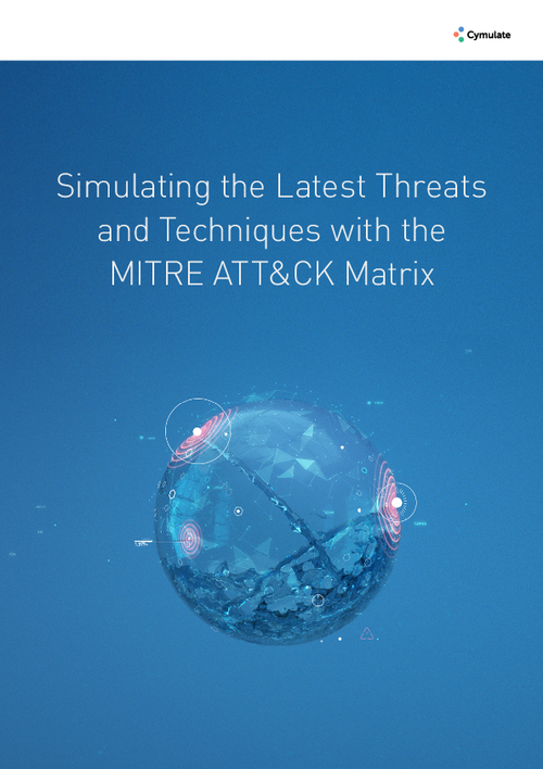 Simulating the Latest Threats and Techniques with the MITRE ATT&CK Matrix