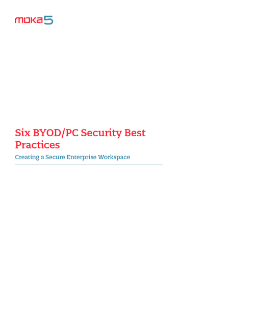 6 BYOD/PC Security Best Practices