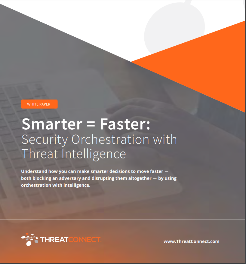 Smarter = Faster: Security Orchestration with Threat Intelligence
