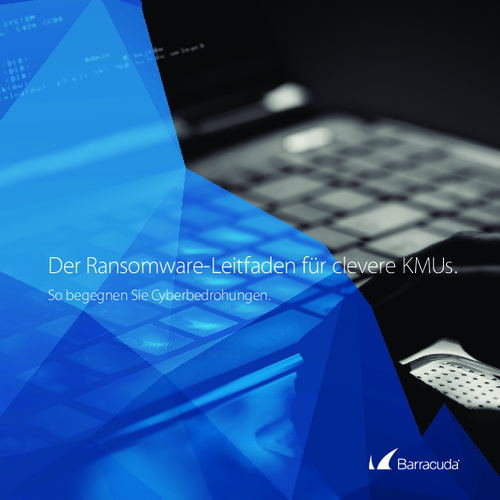 The Smarter SMB's Guide to Ransomware (German Language)