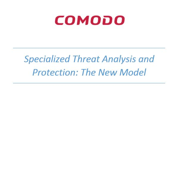 Specialized Threat Analysis and Protection: The New Model