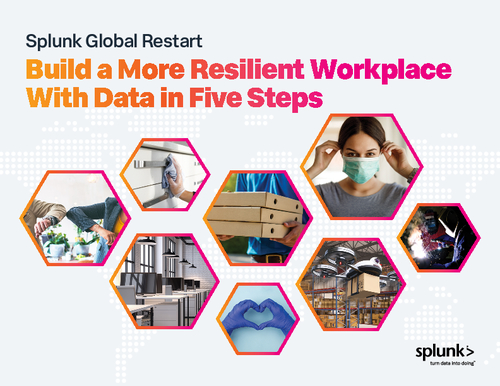 Splunk Global Restart - Build a More Resilient Workplace With Data in Five Steps