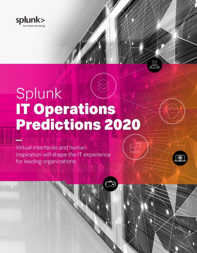 Splunk IT Predictions 2020