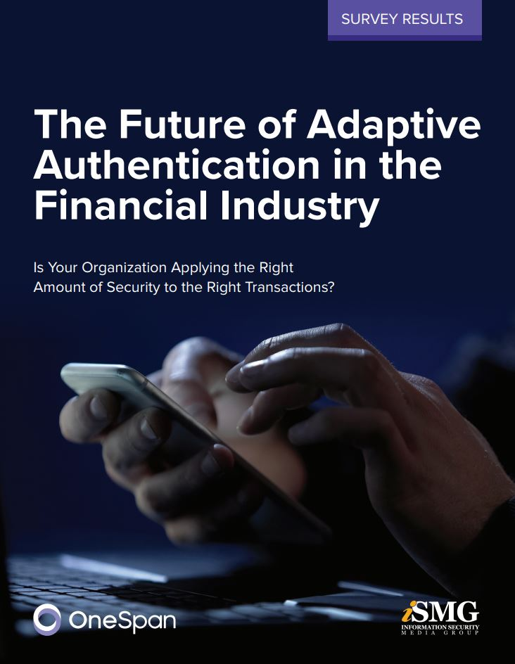 The State of Adaptive Authentication in the Financial Industry