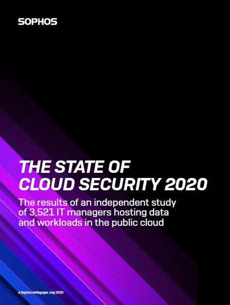 The State of Cloud Security 2020