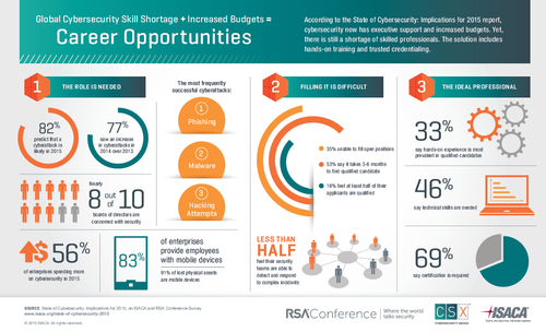 State of Cybersecurity: Implications for 2015 Infographic