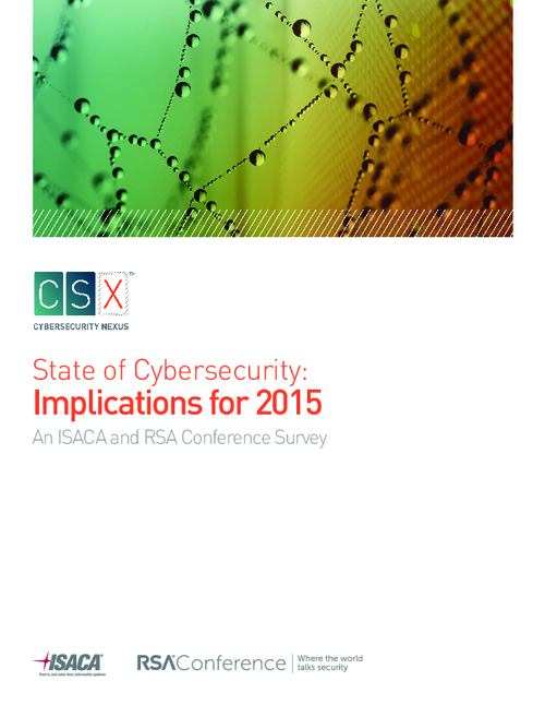 State of Cybersecurity: Implications for 2015