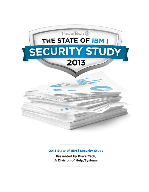 The State of IBM i Security Study 2013
