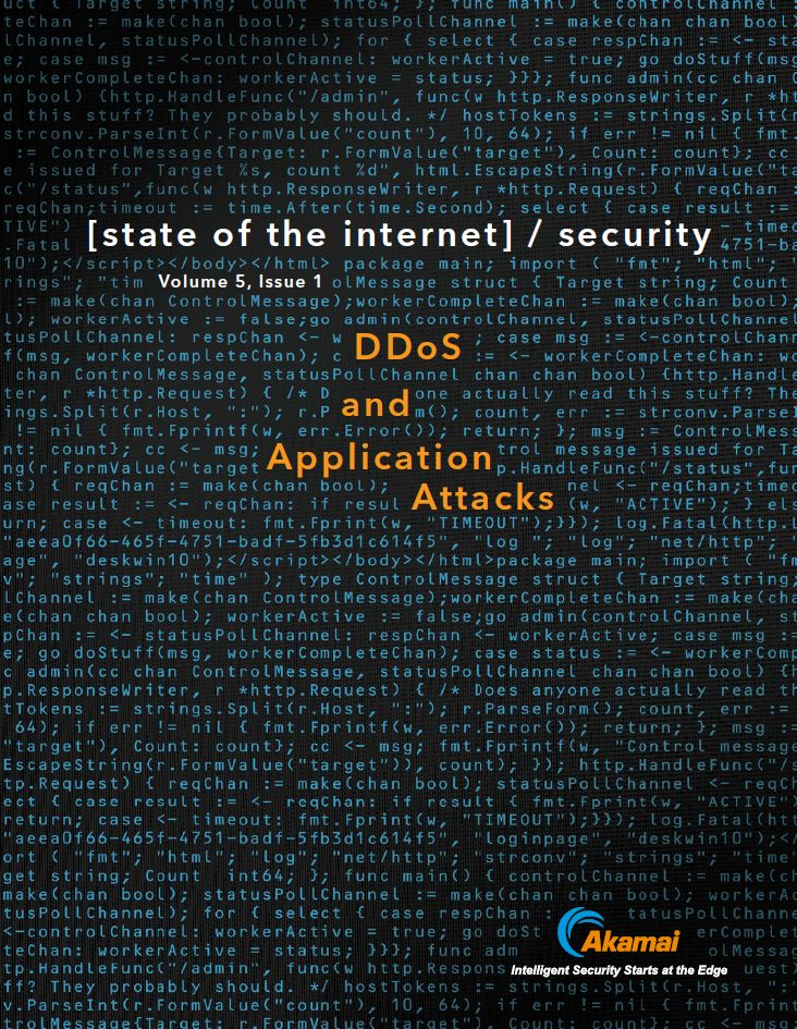 State of the Internet | DDoS And Application Attacks