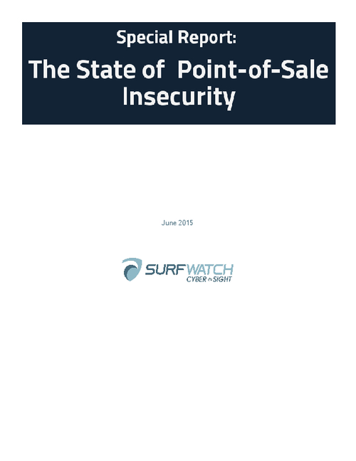 Point of Sale is Point of Insecurity
