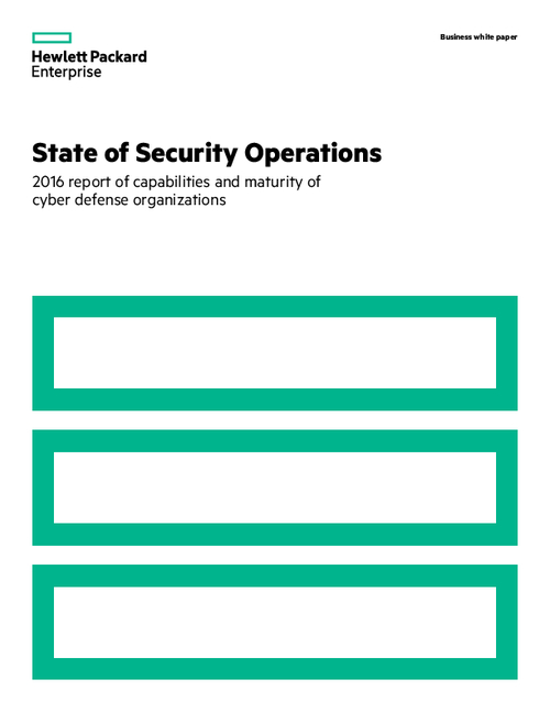 State of Security Operations 2016 Report