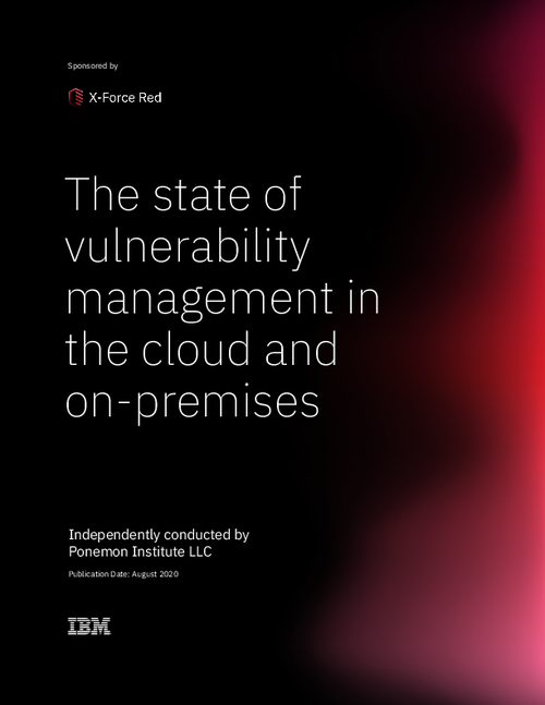 The State of Vulnerability Management in the Cloud and On-Premises