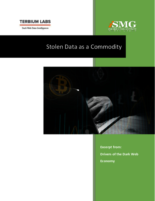 Stolen Data as a Commodity: Drivers of the Dark Web Data Economy