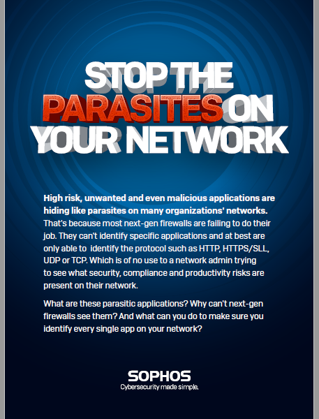 Stop The Parasites on Your Network