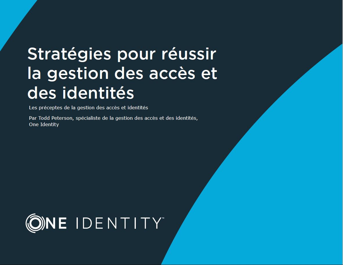 Strategies to Get IAM Right (French Language)