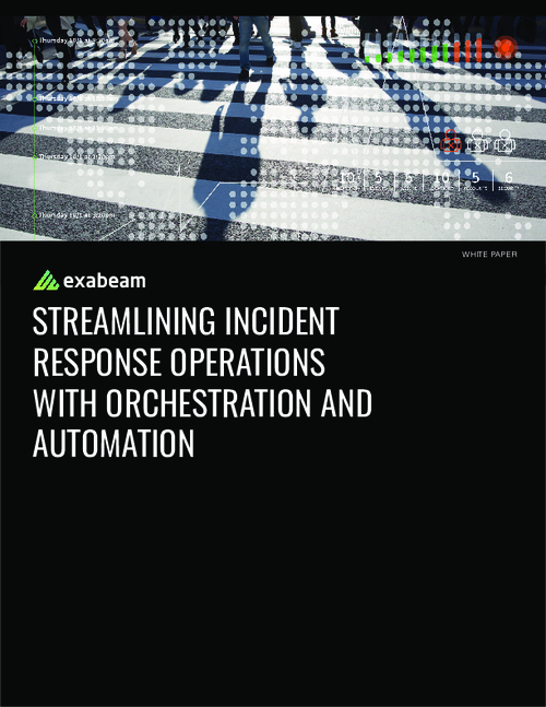 Streamlining IR Operations with Orchestration and Automation