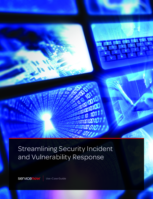 Streamlining Security Incident and Vulnerability Response