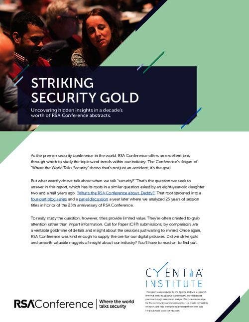 Striking Security Gold: A Decade of Cybersecurity Insights