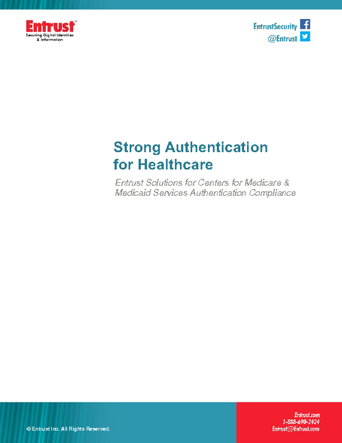 Strong Authentication for Healthcare