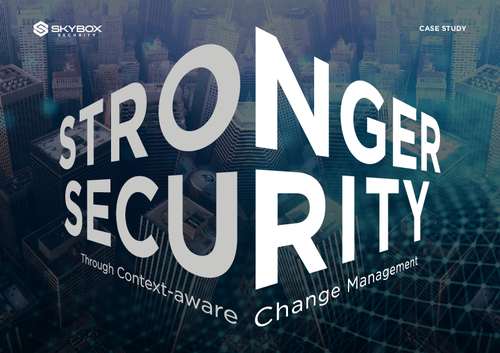 Stronger Security Through Context-aware Change Management: A Case Study