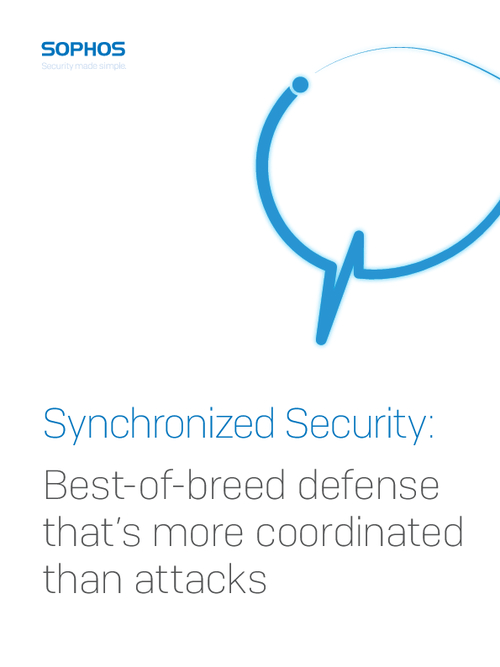 Synchronized Security: Best-of-breed Defense That's More Coordinated Than Attacks