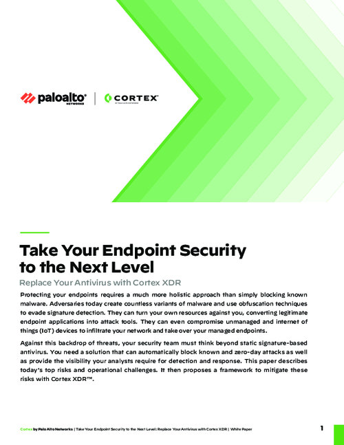 Take Your Endpoint Security to the Next Level