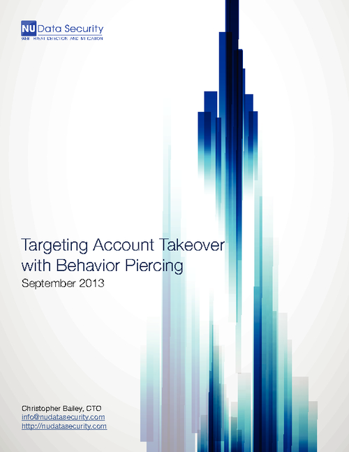 Targeting Account Takeover: Next-Gen Fraud Protection