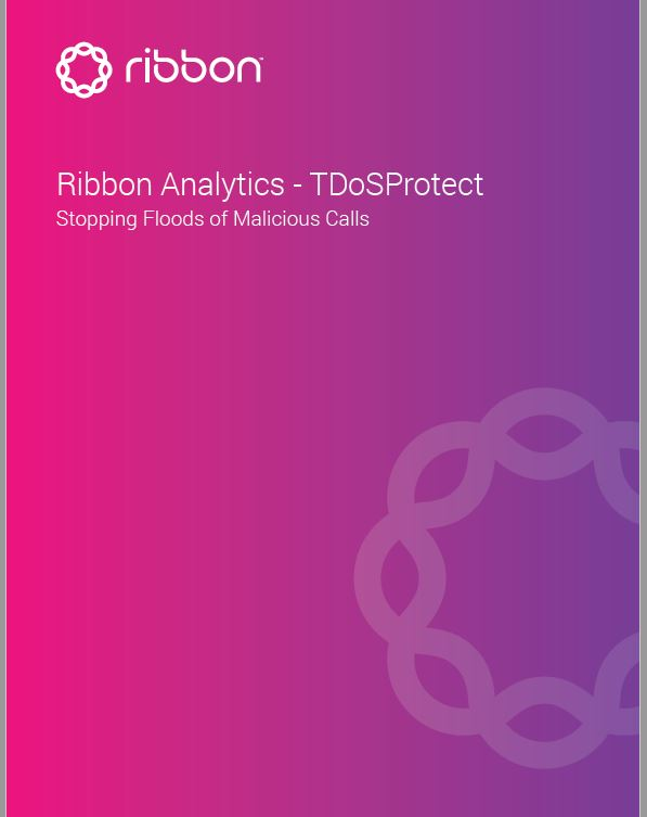TDOSProtect Brochure | Stopping Floods of Malicious Calls