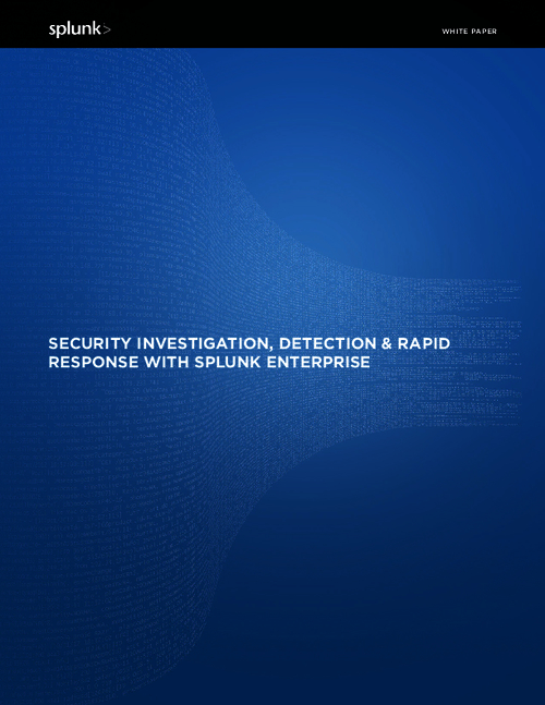 Federal Agencies Tech Brief: Security Investigation, Detection and Rapid Response