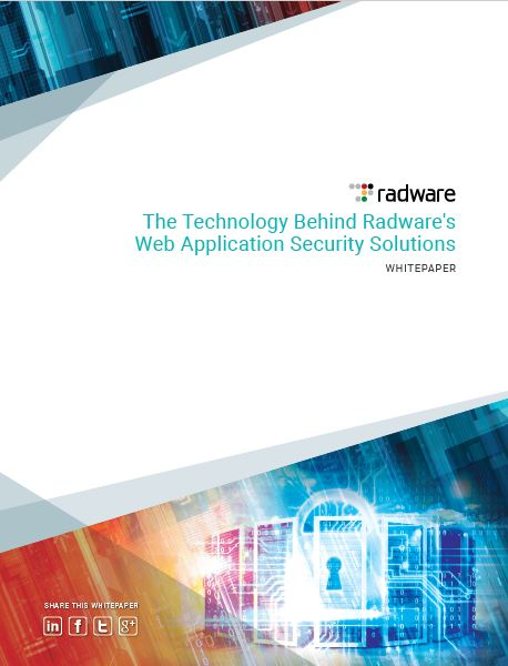 The Technology Behind Radware's Web Application Security Solutions