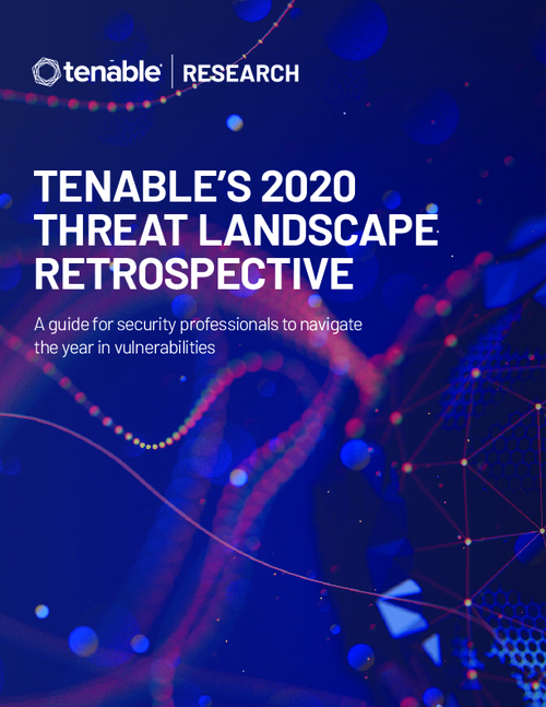 Tenable's 2020 Threat Landscape Retrospective