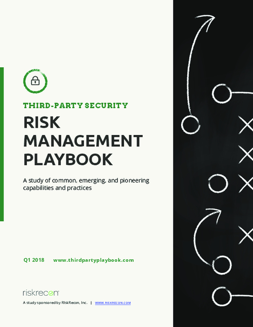 The Third-Party Security Risk Management Playbook