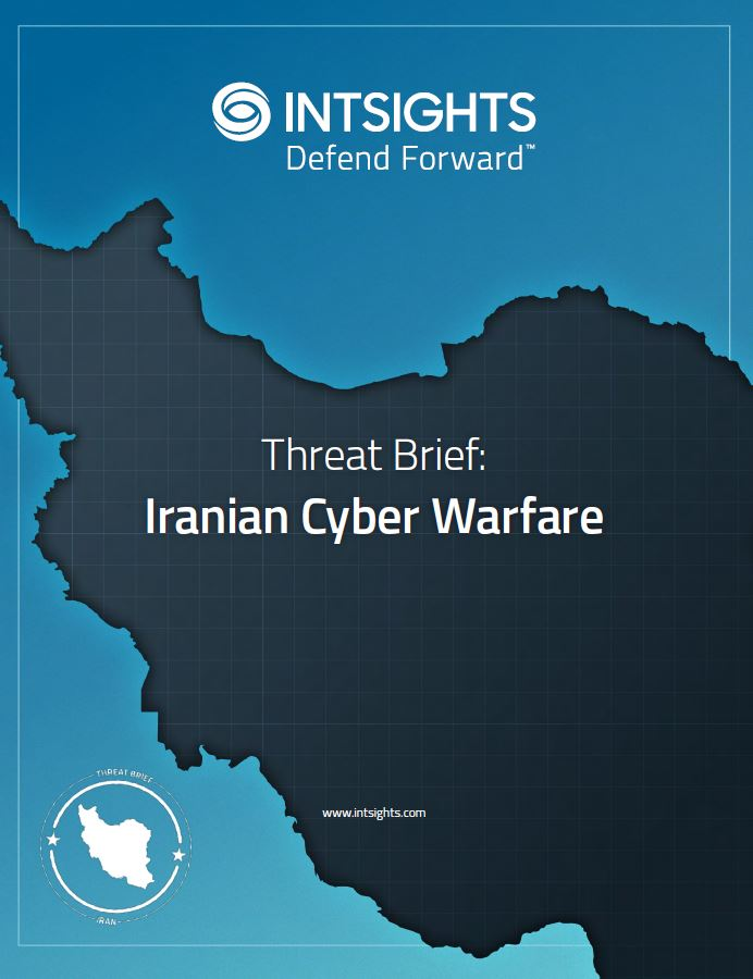 Threat Brief: Iranian Cyber Warfare