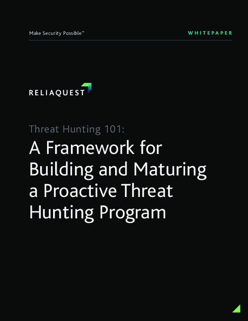 Threat Hunting 101: A Framework for Building and Maturing a Proactive Threat Hunting Program