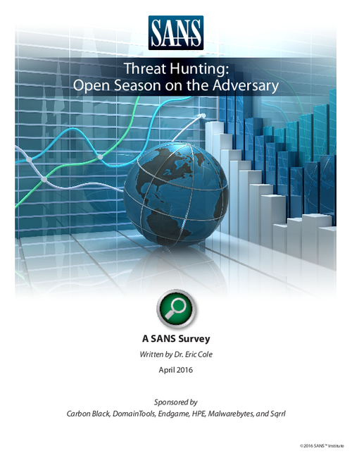Threat Hunting: Open Season on the Adversary