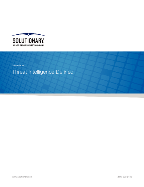 Threat Intelligence Defined