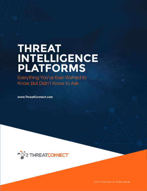 Threat Intelligence Platforms