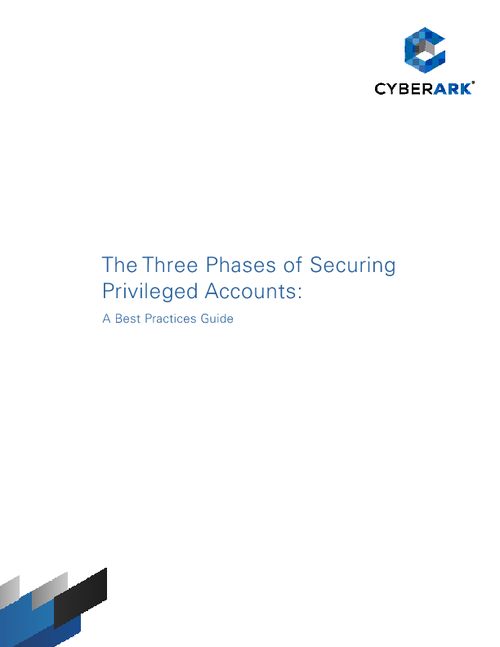 The Three Phases of Securing Privileged Accounts