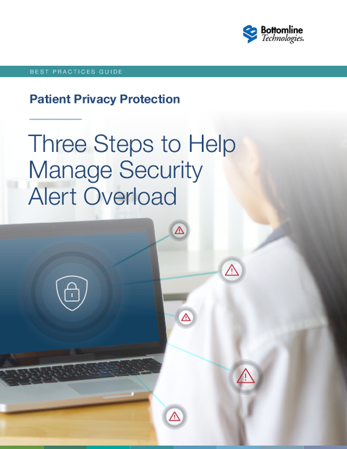 Three Steps To Help Manage Security Alert Overload