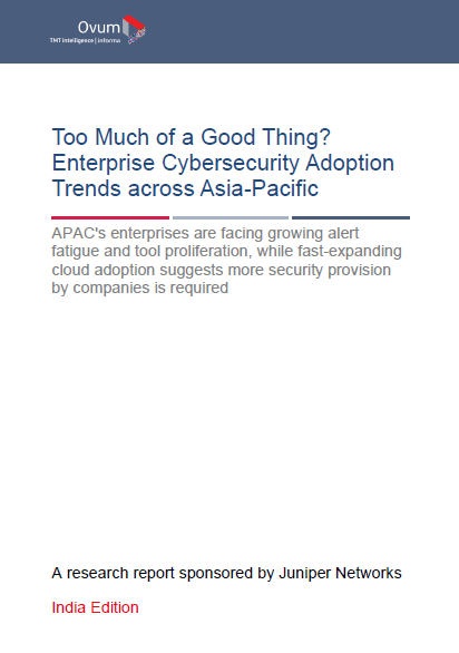 Too Much of a Good Thing? Enterprise Cybersecurity Adoption Trends Across the Asia-Pacific